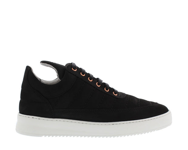 Filling Pieces Low Top Padded Black