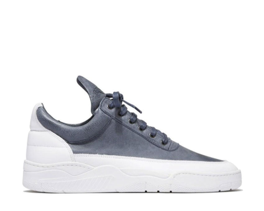 Filling Pieces Low Top Spaceship Navy