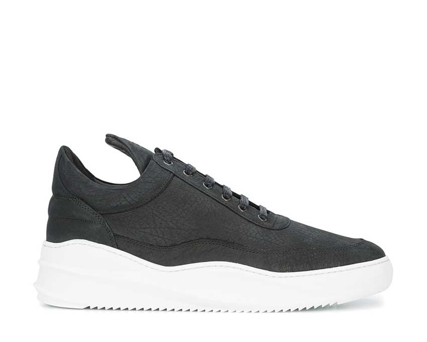 Filling Pieces Low Top Sky Emgrain Black