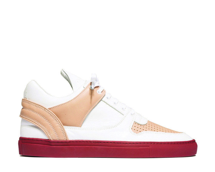Filling Pieces Low Top Transformed Nude Bladeux White