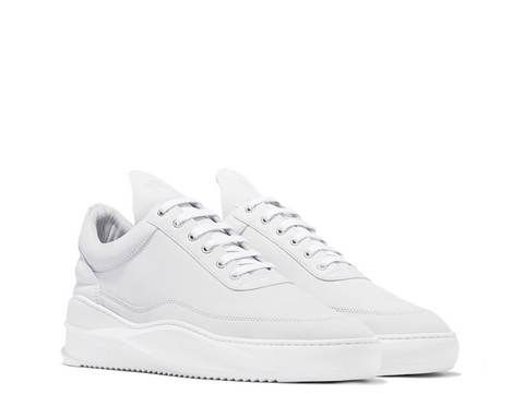 Filling Pieces Low Top Sky Basic White