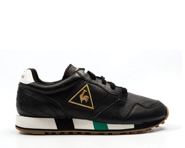 6a4dbc8af79f Le Coq Sportif Omega Leather Black 1810280 - Online Sneaker Store -  NOIRFONCE