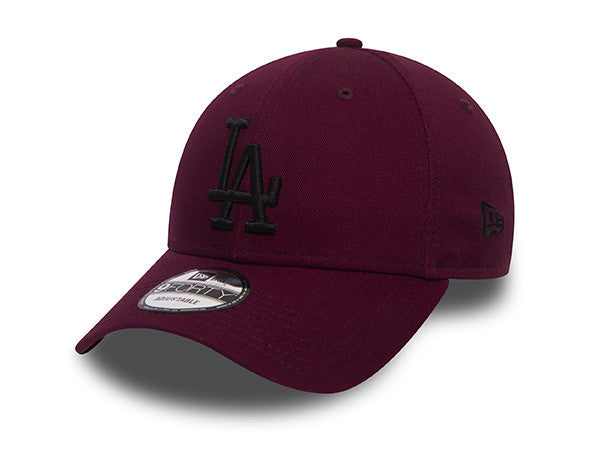 New Era 9FORTY Los Angeles Dodgers Maroon NOIRFONCE Sneakers b99e76d4dea