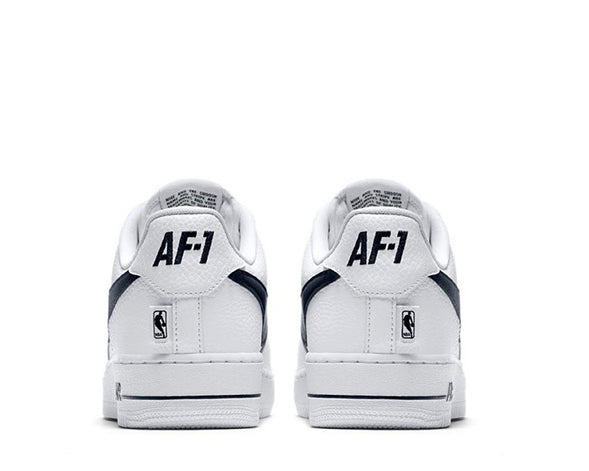 innovative design d3538 02656 Nike Air Force 1 Low NBA White
