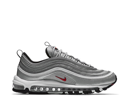 77f19fc246a Nike Air Max 97 OG Metallic Silver Wmn s 885691-001 NOIRFONCE Sneakers