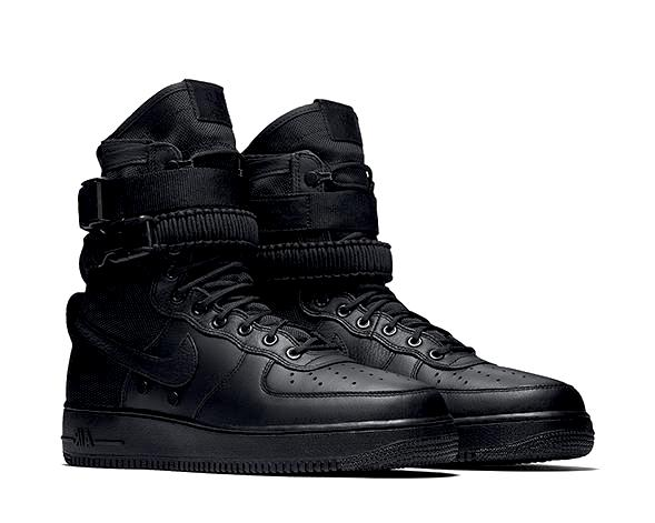 6f126124335 Nike SF Air Force 1 Black 864024-003 - NOIRFONCE