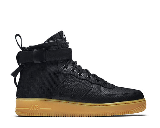 Nike SF Air Force 1 Mid Black Gum 917753-003