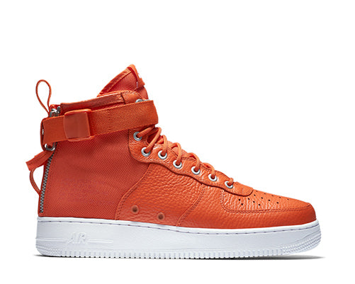 Nike SF Air Force 1 Mid Team Orange 917753-800