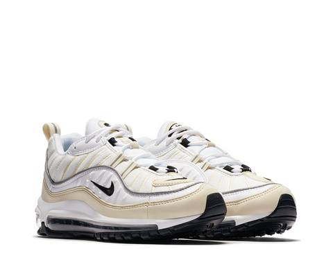 Nike Air Max 98 White Fossil Wmn's