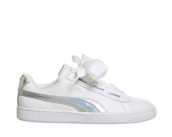 Puma Basket Heart Explosive White 36362602