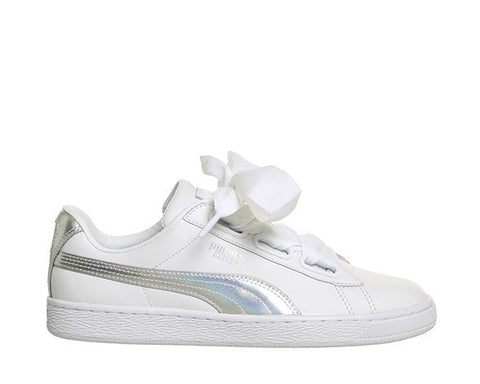 Puma Basket Heart Explosive White