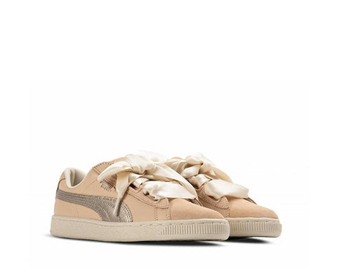 Puma Basket Heart Up Natural Vachetta