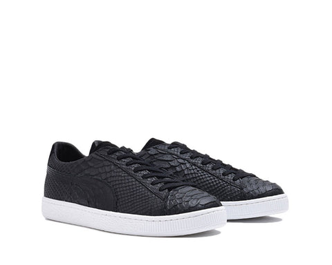 Puma Clyde Made in Italy Snake Black