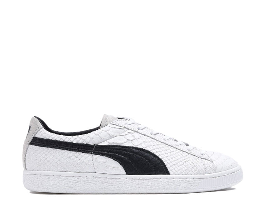 Puma Clyde Made in Italy Snake White