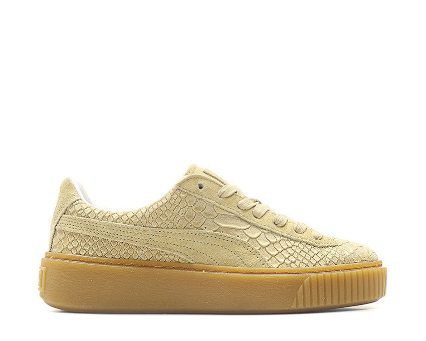 Puma Basket Platform Exotic Skin natural 363377-02