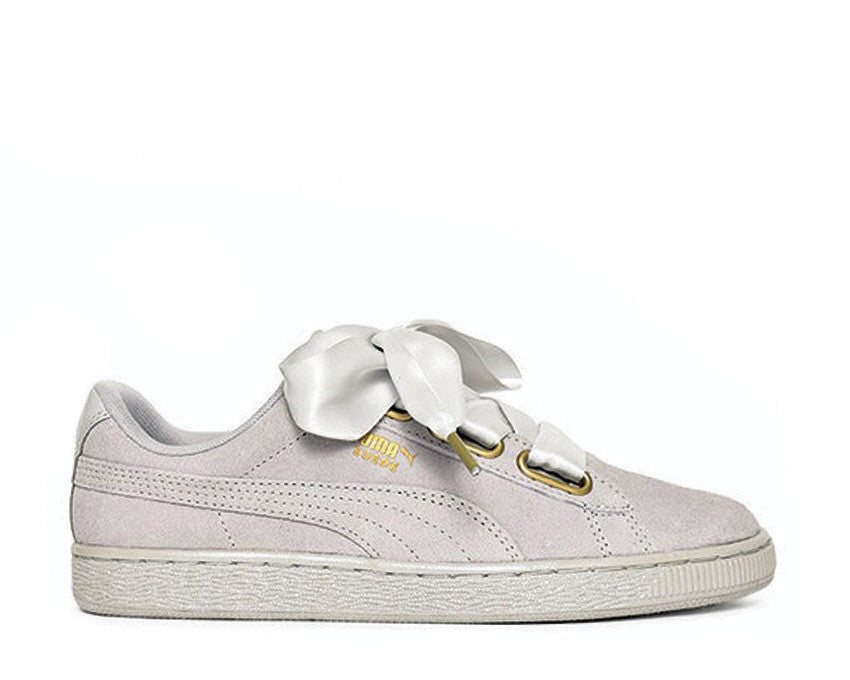 Puma Suede Heart Satin Grey
