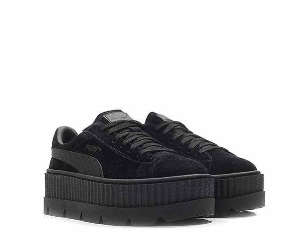 outlet store 9fd43 cbe23 Puma x Fenty Cleated Creeper Black Suede NOIRFONCE Sneakers