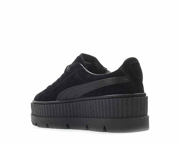 outlet store f4c8d 4288c Puma x Fenty Cleated Creeper Black Suede NOIRFONCE Sneakers