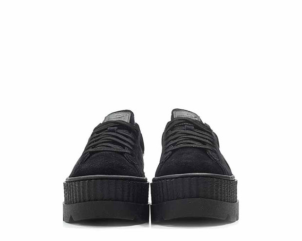 outlet store a744c aae61 Puma x Fenty Cleated Creeper Black Suede NOIRFONCE Sneakers