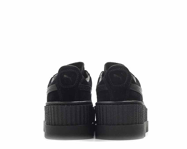 outlet store 92a7b 6305c Puma x Fenty Cleated Creeper Black Suede NOIRFONCE Sneakers