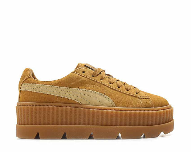Puma x Fenty Cleated Creeper Golden Brown Suede