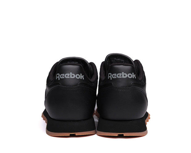 Reebok CL Leather Black Gum