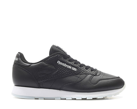 Reebok CL Leather ID Black White