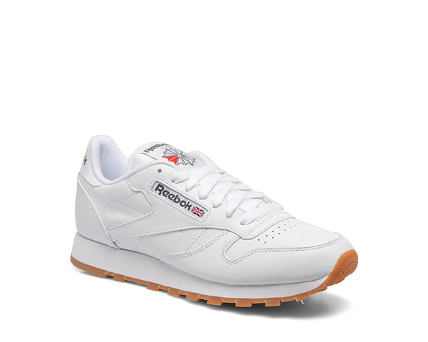 Reebok CL Leather White Gum NOIRFONCE Sneakers 310f59566c60