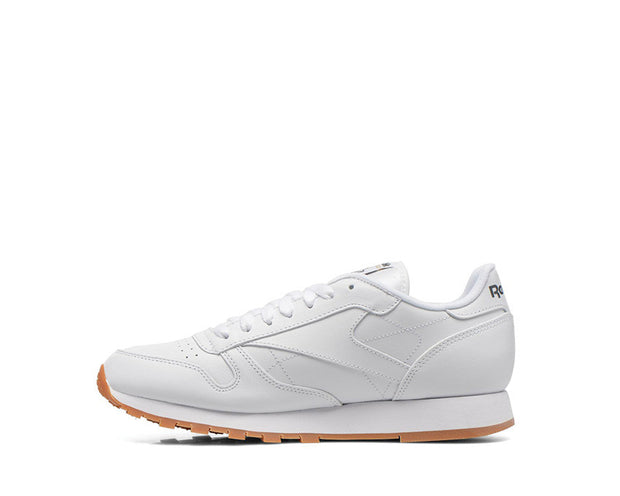 Reebok CL Leather White Gum 49799 noirfonce