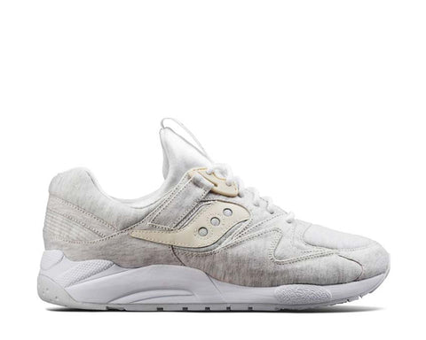 e1dccb9ee46f76 Saucony Grid 9000 HT Coated Jersey White ...