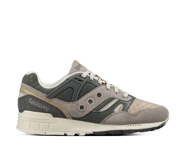 "Saucony Grid SD ""Quilted"" Charcoal Tan"