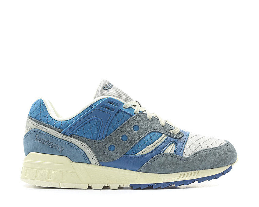 "Saucony Grid SD ""Quilted"" Blue Grey"