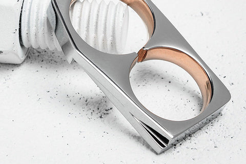 Vitaly Tierra X Stainless Steel Rose Gold