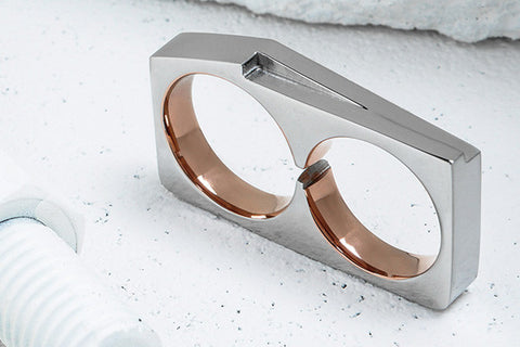Vitaly Terra x Stainless Steel Rose Gold