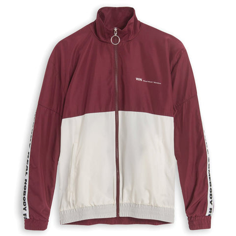 Wood Wood Homer Jacket Red / White