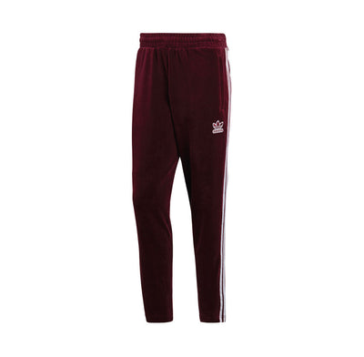 Adidas BB Velour Track Pant Maroon DH5784