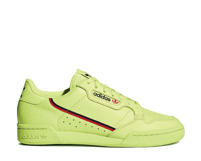 Adidas Continental 80 Rascal Semi Frozen Yellow Scarlet Navy B41675