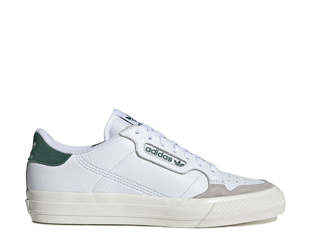 Adidas Continental Vulc White Green EF3534