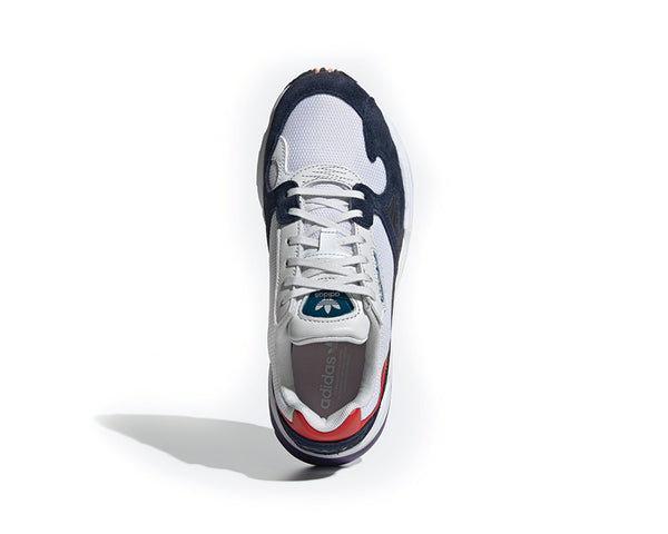 super popular db989 d1c2c ... Adidas Falcon W Crystal White Crystal White Collegiate Navy CG6246