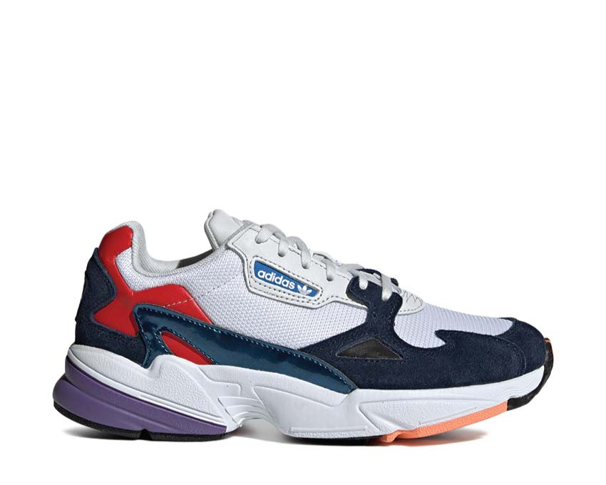 Adidas Falcon W Crystal White Crystal White Collegiate Navy CG6246