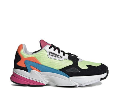Adidas Falcon W Hi Res Yellow Hi Res Yellow Core Black CG6210