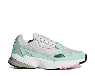 Adidas Falcon W Grey One / Grey One / Green B28127