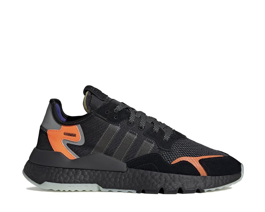 Adidas Nite Jogger Black Carbon Active Blue CG7088
