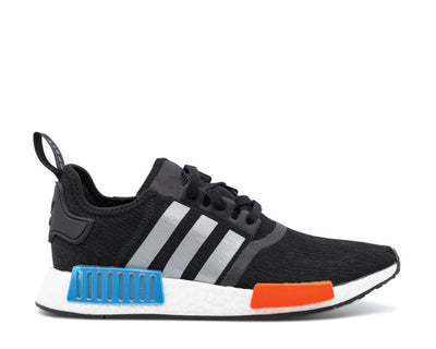 Adidas NMD R1 Black - Platinum - Solar Red FY5727