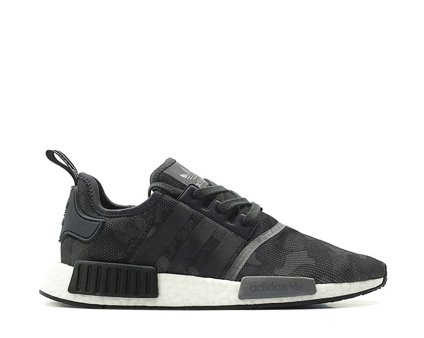 Adidas NMD R1 Core Black Grey Four Grey Five D96616