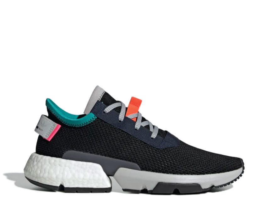 Adidas POD-S3.1 Core Black Solar Red B28080