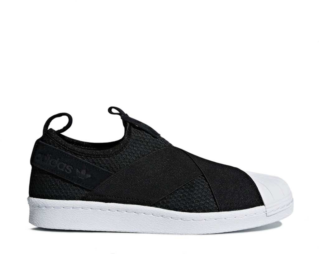 the best attitude 9d9c5 038dd Adidas Superstar Slip On W Core Black