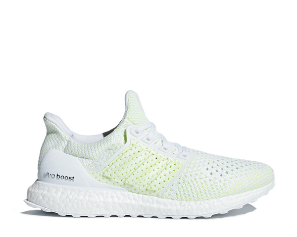 official photos f4713 98c33 Adidas Ultra Boost 4.0 Clima White Solar Yellow AQ0481 - NOIRFONCE