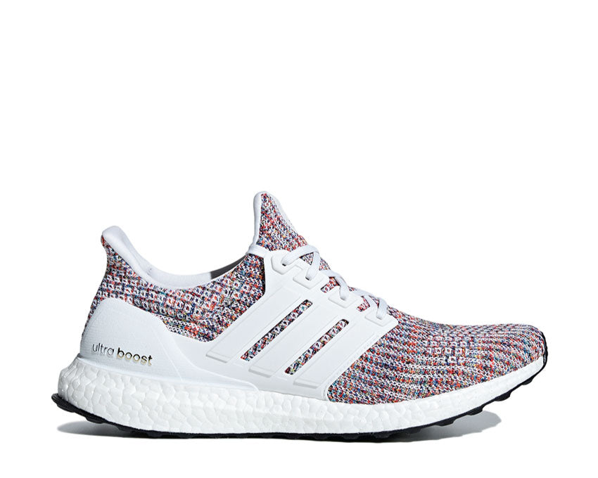 Adidas Ultra Boost 4.0 White Navy Multicolor CM8111