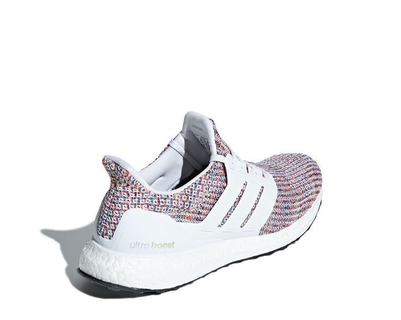 best value 19bc8 4995d Adidas Ultra Boost 4.0 White Multicolor